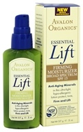 Avalon Organics - Essential Lift Firming Moisturizer Broad Spectrum 15 SPF - 2 oz. (654749461105)