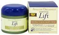 Avalon Organics - Essential Lift Restructuring Night Creme - 2 oz. by Avalon Organics