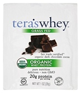 Tera's Whey - Organic Whey Protein Packet Fair Trade Dark Chocolate - 1 oz. by Tera's Whey