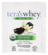 Tera's Whey - Organic Grass Fed Whey Protein Packet Bourbon Vanilla - 1 oz.