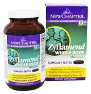 New Chapter - Zyflamend Whole Body - 180 Softgels (727783040527)