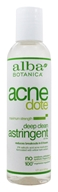 Alba Botanica - Natural ACNEdote Deep Clean Astringent - 6 oz.