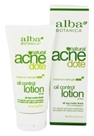 Alba Botanica - Natural ACNEdote Oil Control Lotion - 2 oz. by Alba Botanica