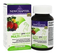 New Chapter - Perfect Prenatal Multivitamin - 48 Vegetarian Tablets