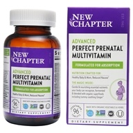 New Chapter - Perfect Prenatal Multivitamin - 96 Tablets
