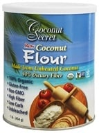 Coconut Secret - Raw Coconut Flour - 1 lb., from category: Health Foods