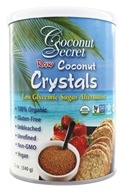 Image of Coconut Secret - Raw Coconut Crystals Low Glycemic Sugar Alternative - 12 oz.