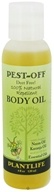 Plantlife Natural Body Care - Pest-Off Body Oil Natural Repellent Deet Free - 4 oz. CLEARANCE PRICED