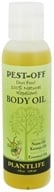 Plantlife Natural Body Care - Pest-Off Body Oil Natural Repellent Deet Free - 4 oz.