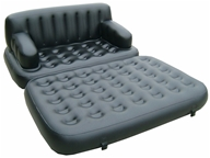Pure Comfort - 5-1 Sofa Bed 8510SB Black, from category: Health Aids