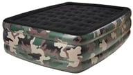 Pure Comfort - Queen Raised Air Bed With Flock Top 8508CDB Camoflauge by Pure Comfort