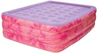 Pure Comfort - Queen Raised Air Bed With Flock Top 8508TDB Tie Dye by Pure Comfort
