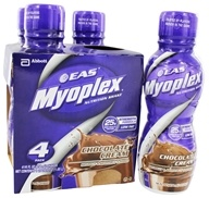 EAS - Myoplex Strength Formula RTD 25g Protein Nutrition Shake Chocolate Cream - 4 Pack - $12.99