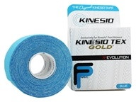 Kinesio - Point de gel d'or de bande de Tex 2 po x 16.4 pi. Bleu - 1 roulement