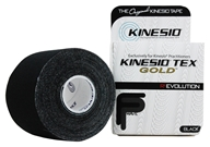 "Image of Kinesio - Tex Tape Gold 2"" W x 16.4' L Black - 1 Roll(s)"