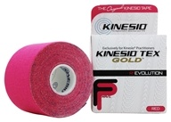 "Image of Kinesio - Tex Tape Gold 2"" W x 16.4' L Red - 1 Roll(s)"