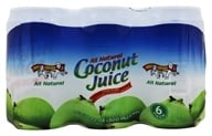 Amy & Brian - All Natural Coconut Juice 6 x 10 oz. Cans - 6 Pack - $7.49