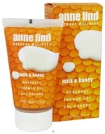 Image of Borlind of Germany - Anne Lind Natural Wellness Shower Gel Milk & Honey - 5.07 oz. CLEARANCE PRICED