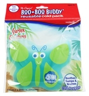 Boo Boo Buddy - Reusable Cold Pack Garden Creatures Design Butterfly - $4.49