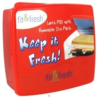 Image of Fit & Fresh - Kids Lunch POD With Removable Ice Pack