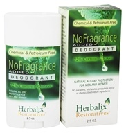 Image of Herbalix Restoratives - Deodorant No Added Fragrance - 2.5 oz.