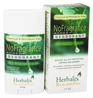 Herbalix Restoratives - Deodorant No Added Fragrance - 2.5 oz.