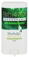 Herbalix Restoratives - Deodorant Travel Size No Added Fragrance - 0.47 oz. CLEARANCE PRICED by Herbalix Restoratives