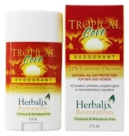 Herbalix Restoratives - Deodorant Tropical Cove - 2.5 oz. - $6.97