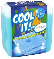 Fit & Fresh - Kids Cool Coolers - 4 Pack