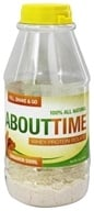 Image of SDC Nutrition - About Time 100% All Natural Whey Protein Isolate RTD Cinnamon Swirl - 31 Grams