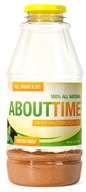 Image of SDC Nutrition - About Time 100% All Natural Whey Protein Isolate RTD Mocha Mint - 31 Grams