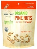 Woodstock Farms - Organic Pine Nuts - 6 oz. (042563007393)
