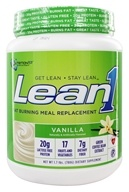 Nutrition 53 - Lean1 Performance Shake Vanilla - 1.7 lbs. by Nutrition 53