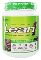 Nutrition 53 - Lean1 Performance Shake Cookies & Cream - 2 lbs., from category: Sports Nutrition