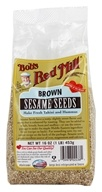 Image of Bob's Red Mill - Sesame Seeds Brown - 16 oz.
