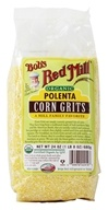Bob's Red Mill - Corn Grits Polenta Organic - 24 oz., from category: Health Foods