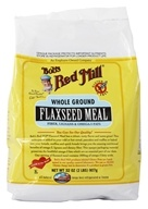 Image of Bob's Red Mill - Flaxseed Meal Whole Ground Gluten Free - 32 oz.