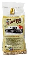 Image of Bob's Red Mill - Hot Cereal 5 Grain Rolled Plus Flaxseed - 16 oz.