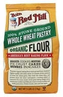 Bob's Red Mill - Whole Wheat Pastry Flour Organic - 5 lbs. (039978029935)