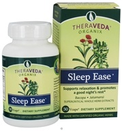 Organix South - TheraVeda Organix Sleep Ease - 30 Vegetarian Capsules