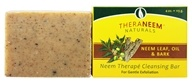 Image of Organix South - TheraNeem Organix Cleansing Bar For Gentle Exfoliation Neem Leaf, Oil & Bark - 4 oz.