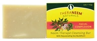Image of Organix South - TheraNeem Organix Cleansing Bar Facial Complexion Rejuvenating Sea Buckthorn - 4 oz.