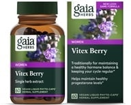 Gaia Herbs - Vitex Berry Liquid Phyto-Caps - 60 Vegetarian Capsules, from category: Herbs