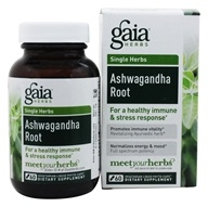 Gaia Herbs - Ashwagandha Root Liquid Phyto-Caps - 60 Vegetarian Capsules, from category: Herbs