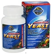Garden of Life - Immune Balance Yeast FREEze - 60 Vegetarian Capsules, from category: Nutritional Supplements