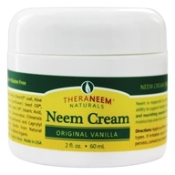 Organix South - TheraNeem Organix Neem Cream Original Vanilla - 2 oz. - $10.99
