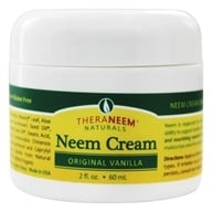 Organix South - TheraNeem Organix Neem Cream Original Vanilla - 2 oz. by Organix South