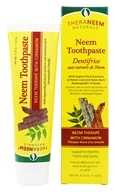 Organix South - TheraNeem Organix Toothpaste Cinnamon - 4.23 oz. - $5.19