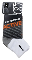 Incredisocks - Bamboo Charcoal Socks Above Ankle Sports Medium White by Incredisocks