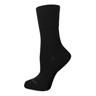 Image of Incredisocks - Bamboo Charcoal Socks Men's Dress Medium/Large Black
